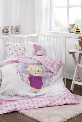 Özdilek Purple Lover Battaniyeli Bebek Nevresim Takımı Pembe Özdilek PurpleLover Battaniyeli Bebek