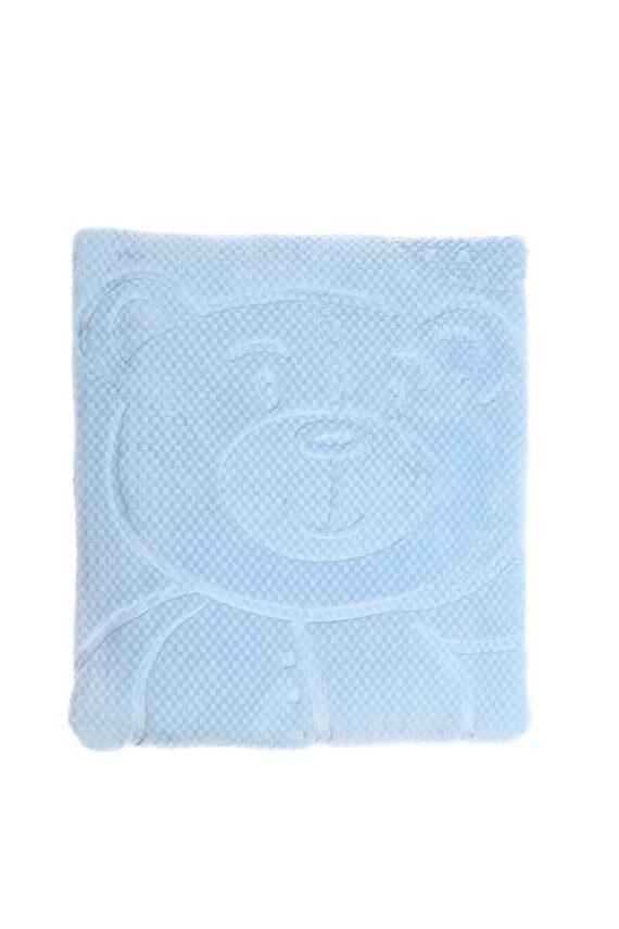 Özdilek Petit Embos Bebek Battaniyesi Mavi 100x120
