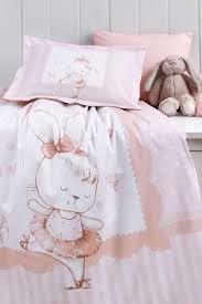 Özdilek Dancer Bunny Battaniyeli Bebek Somon Özdilek Dancer Bunny Battaniyeli Nevresim Takımı