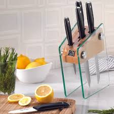 Korkmaz Vetra Cam Standlı Bıçak Seti Ürün Kodu: A685