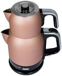 Korkmaz Çaytema Rosagold/Krom Elektrikli Çaydanlık Ürün Kodu: A331-02