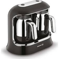 Korkmaz Kahvekolik Twin Siyah/Krom Otomatik Kahve Makinesi Ürün Kodu: A861-01