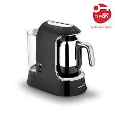 Korkmaz Kahvekolik Aqua Siyah/Krom Otomatik Kahve Makinesi Ürün Kodu: A862-01