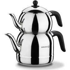 Korkmaz Retro Siyah Çaydanlık Takımı Ürün Kodu: A194