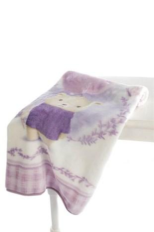 Özdilek Bebek Battaniyesi Purple Lover 100*120
